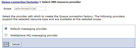 configure jms connection factory websphere broker