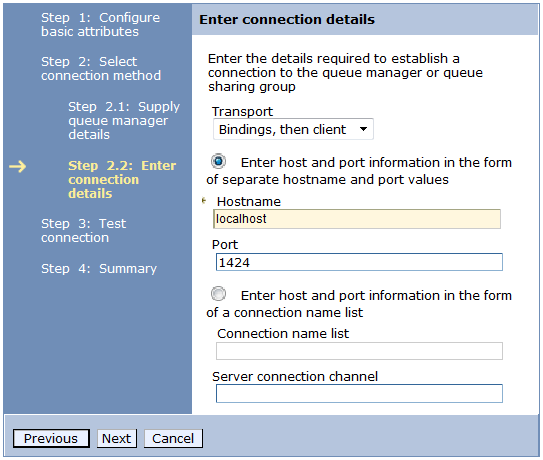 configuring websphere mq message broker